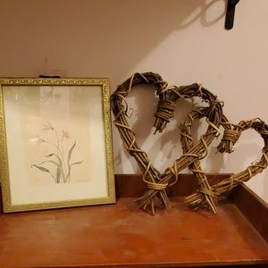 Vine heart and picture